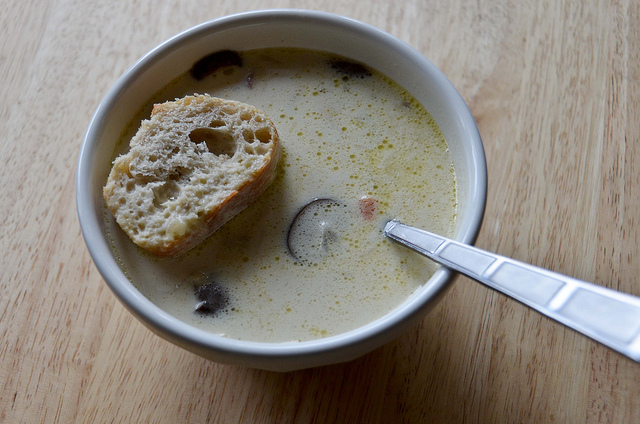 Scottish Potato-Leek-Mushroom Soup Recipe